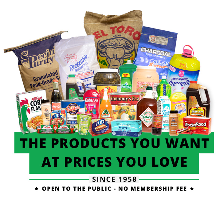 The Wholesale Grocery Products You Want at Prices You Love